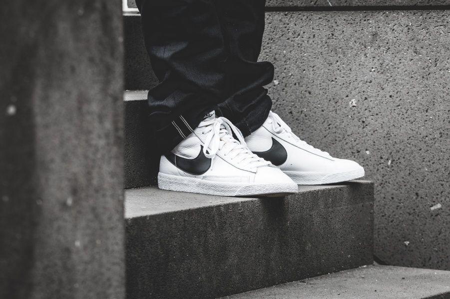 online store f84f8 67674 Nike - Blazer Mid Retro (weiß  schwarz) - 845054-102