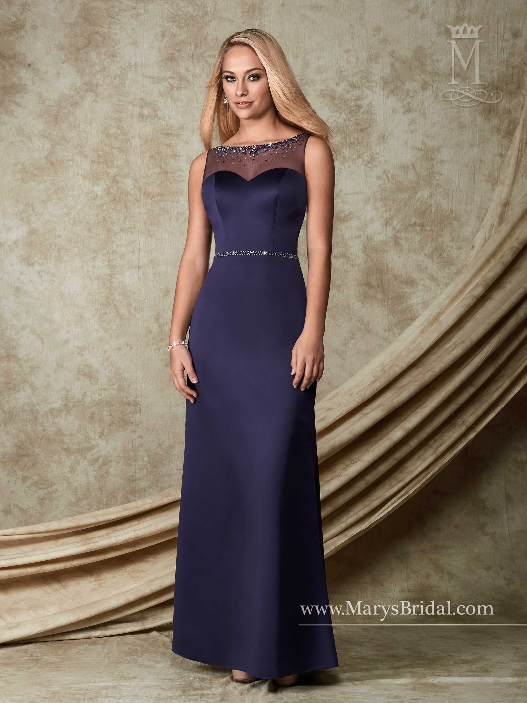 bridesmaids - modern maids - style: m1500mary's bridal gowns