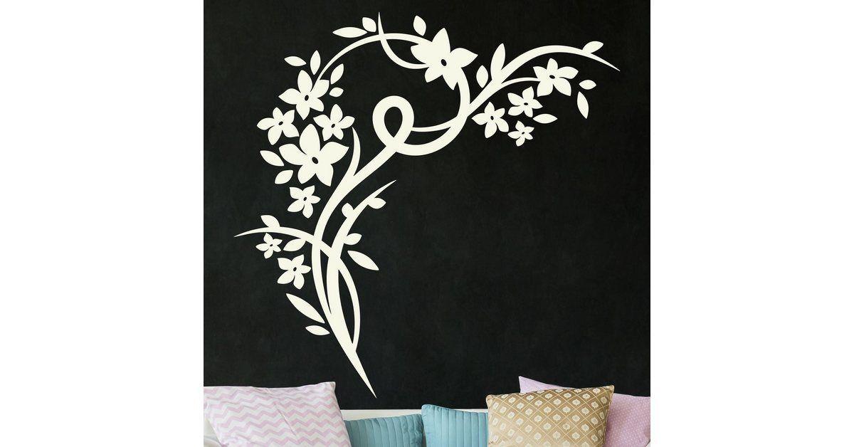 Photo of Wall sticker »flower corner« – decordiyhome.com/dekor