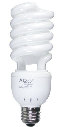 Alzo Photograph Mild Bulb 27 Watt Cfl 5500okay 120v Alzo Joyous Mild Daylight Pure White Mild Fluorescent Light Bulb Light Bulb Photography Light Bulbs