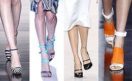 Sandália de tiras e oxford estão entre as tendências.