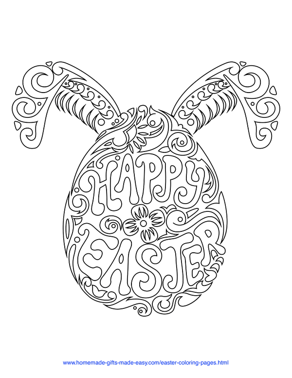 100 Easter Coloring Pages For Kids Free Printables Coloring Easter Eggs Coloring Eggs Easter Egg Coloring Pages