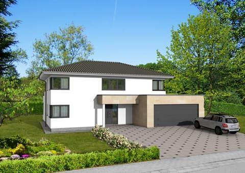 Dieses und viele Häuser mehr gibt es auf Fertighausde \u2013 Ihr Hausbau