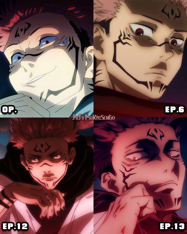 Sukuna Anime Anime Icons Jujutsu