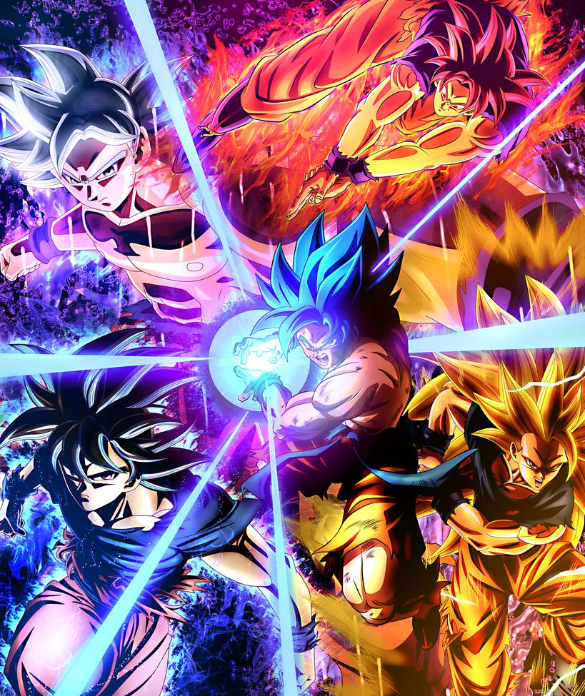 dragon ball super by dt501061 on DeviantArt in 2020   Anime dragon ball goku, Anime dragon ball ...