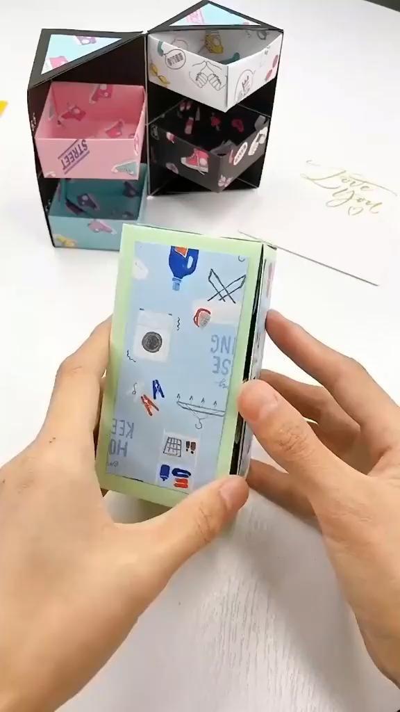 Photo of DIY: Cute Paper Box