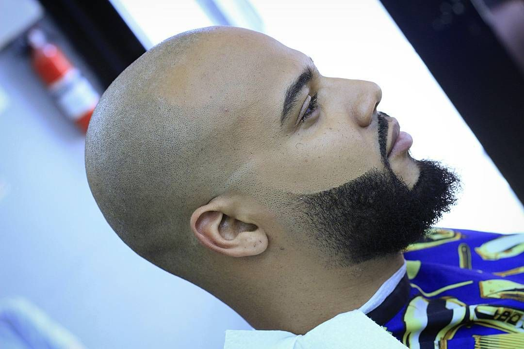 Cool 45 Exquisite Shaved Head Styles Bold And Brave Bald Head With Beard Shaved Head Styles Beard Styles Bald