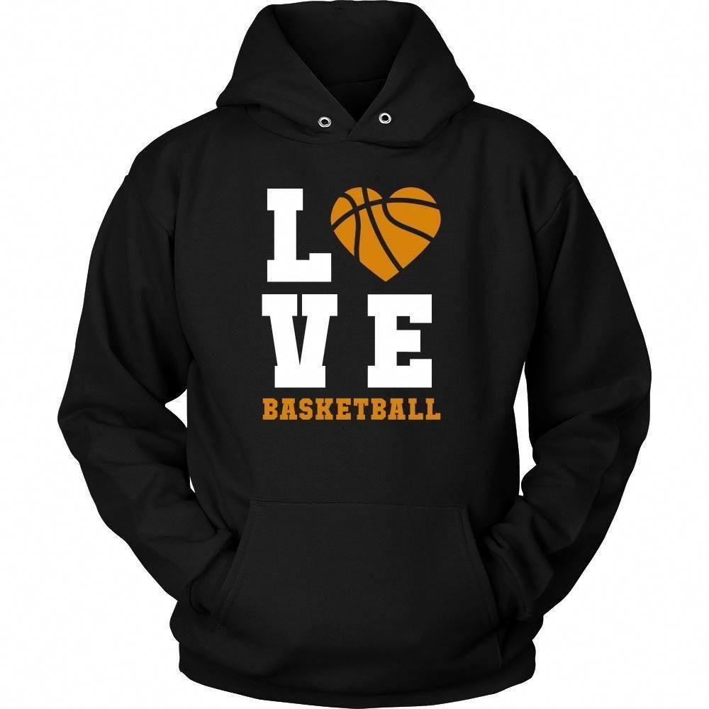 la mejor moda b986a 52f4a Basketball Love T Shirt - Sport Design Apparel ...