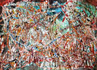 my artwork - aqua vitae: 27dec15 paper/ mixed media [2009]