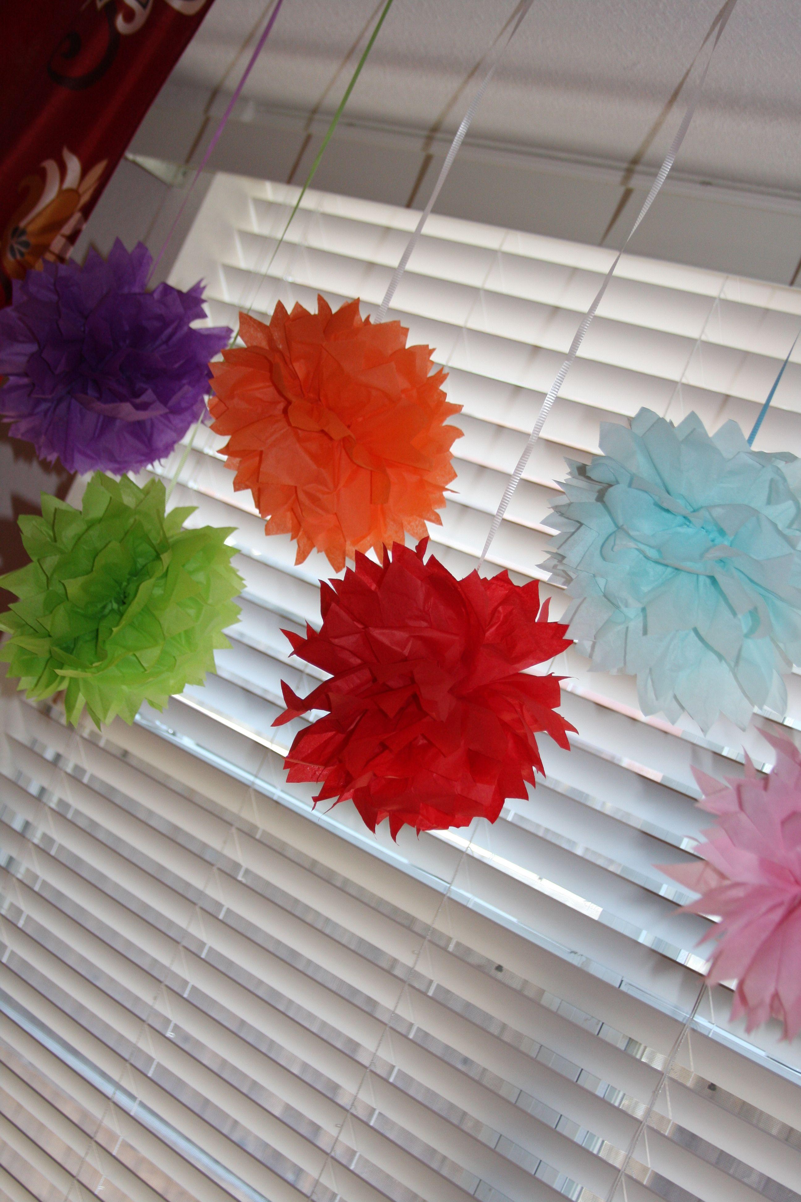 Tissue Paper Puffs