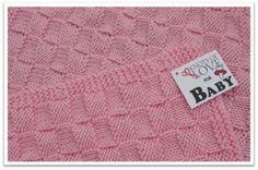 Knotsoflove.org Basket Weave Knit NICU Blankets