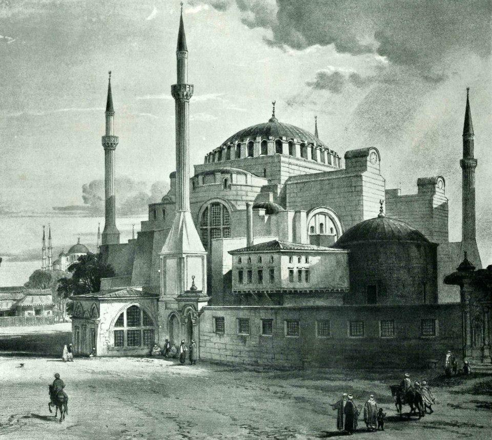 """""""hagia Sophia-ayasofya"""" City-sultanahmet. Istanbul"""