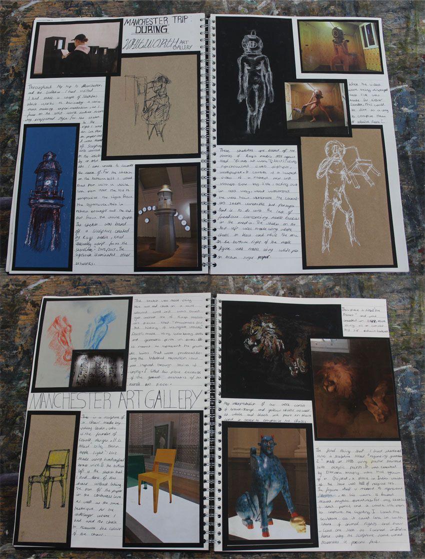 Al Fine Art A3 Sketchbook Trip Plan And