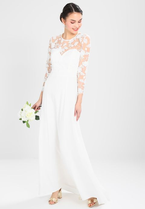 35b5269c6468 IVY   OAK BRIDAL SABE BRIDAL DRESS SLEEVE - Suknia balowa - snow white -  Zalando.pl