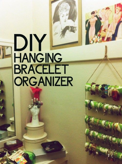 Diy Hanging Bracelet Organizer Does Not Work For Bangles