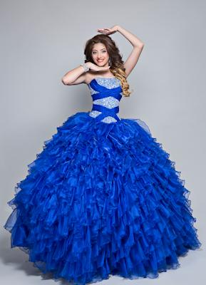 Vestidos De 15 Años Azul Rey En 2019 15 Años Vestidos De
