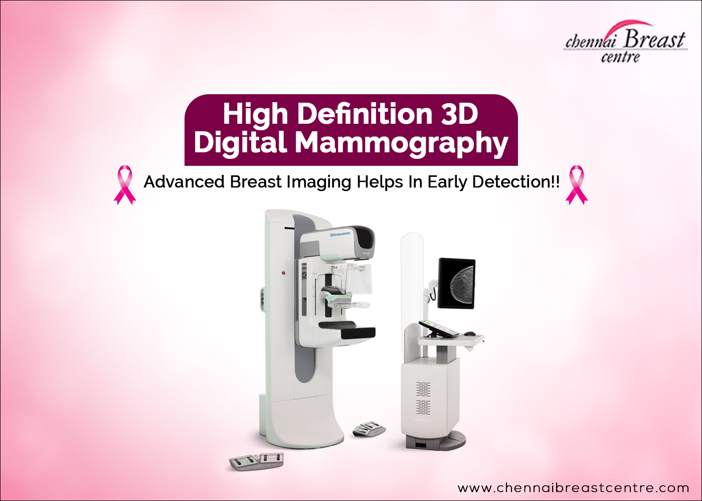 Pin by Chennai Breast Centre on 3D Mammography Machine