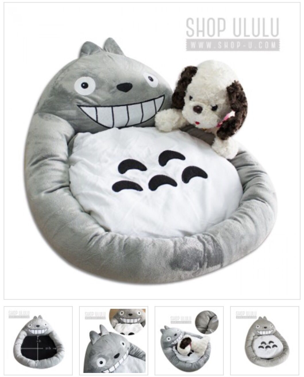 For your beloved pet Totoro (≧∇≦)