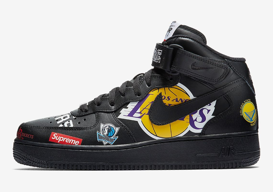 Der Supreme x Nike Air Force 1 Mid kommt! | Supreme shoes