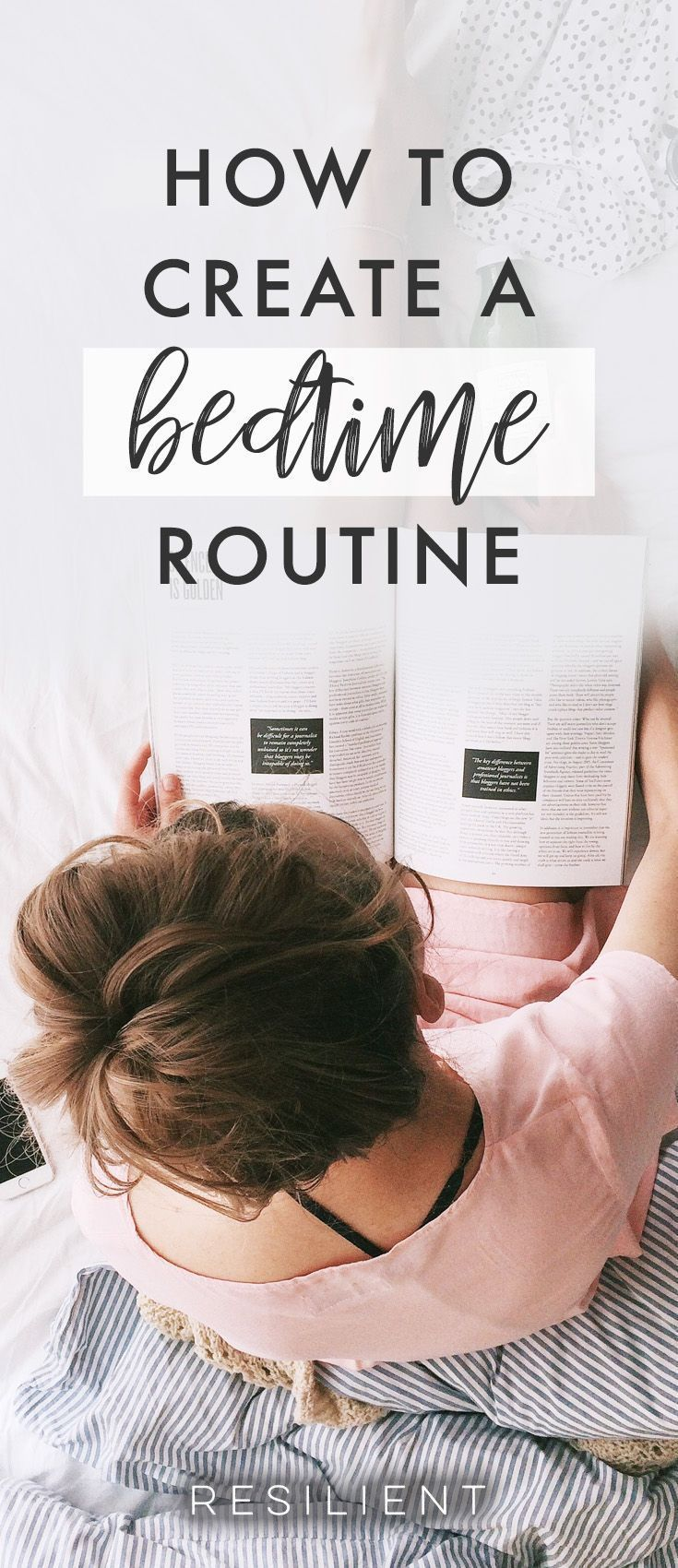 to Create a Bedtime Routine Having simple routines in our day can help you simplify your life and have less stress because you know what you need to do without having to think about it. And your sleep quality can definitely benefit from having a nightly routine for getting ready insHaving simple routines in our day can help you simplify your life and h...