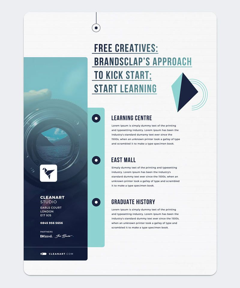 Free Flyer Template Download this free flyer templates for both - free pamphlet templates
