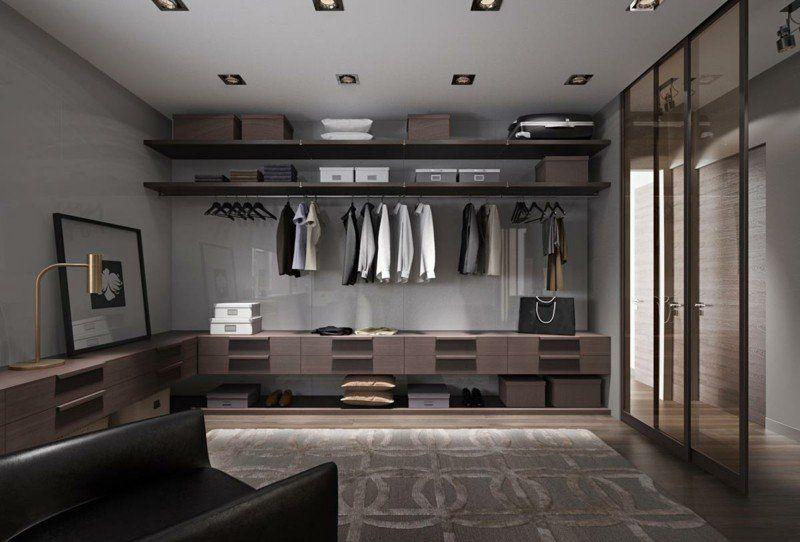 Aménagement dressing moderne– 55 idées design très classe