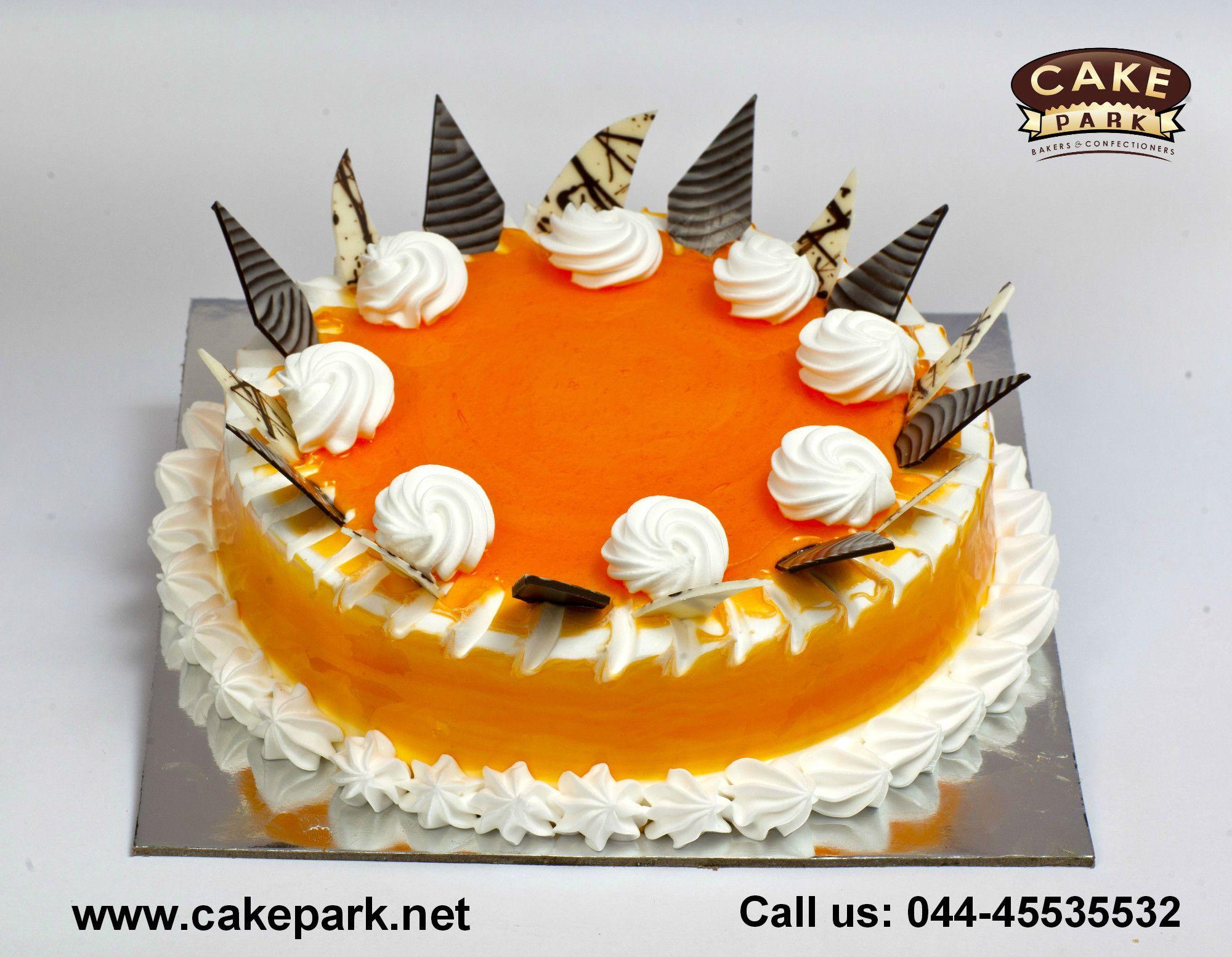 Orange Honey Cake For Your Lovable One Order Cakes Online In