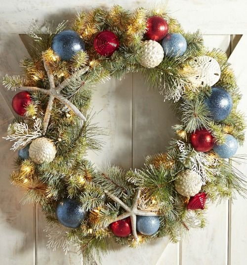 50 cheap and easy diy coastal christmas decorations ideas vanchitecture - Coastal Christmas Decorations For Sale