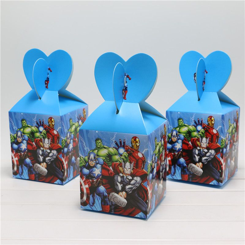 Wedding Favors Decoration DIY Candy Cookie Gift Boxes Wedding Party Candy Box Avenger Kids Party Favors And Gift Supplies 6pcs US $4.85 - http://partytoys.space/wedding-favors-decoration-diy-candy-cookie-gift-boxes-wedding-party-candy-box-avenger-kids-party-favors-and-gift-supplies-6pcs-us-4-85/