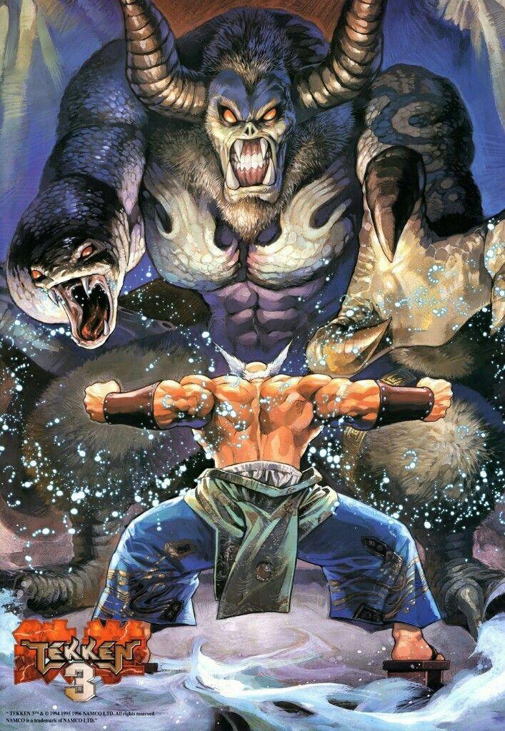 tekken 3 ogre vs heihachi mishima namco versus character art mishima art of fighting tekken 3 ogre vs heihachi mishima
