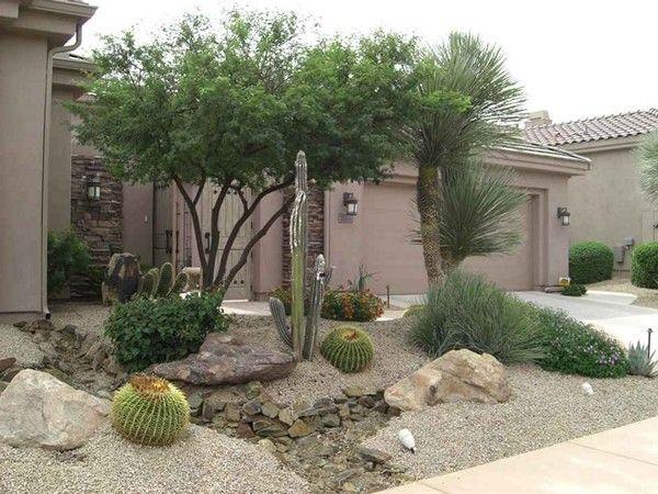Low Cost Desert Landscape Ideas Xeriscape Front Yard Xeriscape