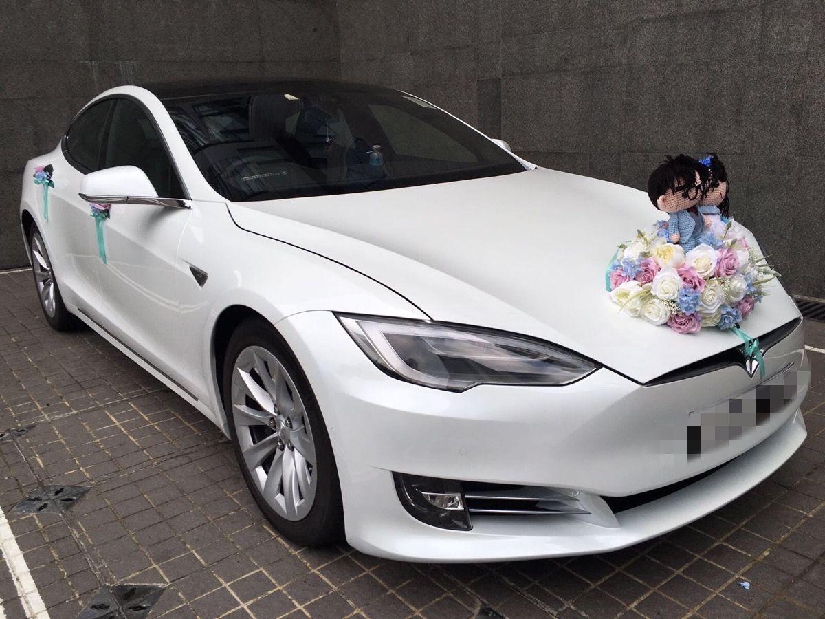 Tesla花車 唯你獨有mc Michelle最近夥拍花車公司 推出全新 Tesla