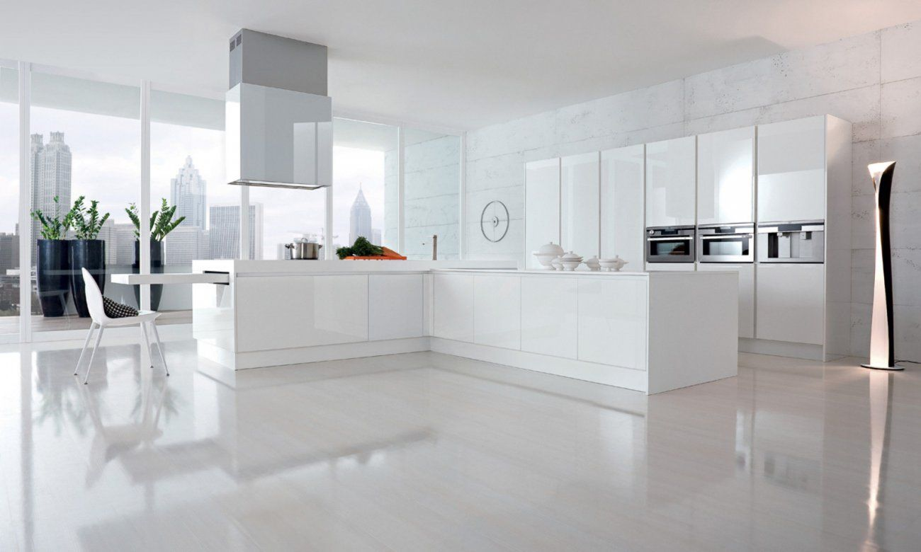 Cucina moderna e dal design lineare, City permette una veloce ...