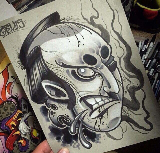 Severed Head Action - Dave Tevenal | デビット | Pinterest | Artistas ...
