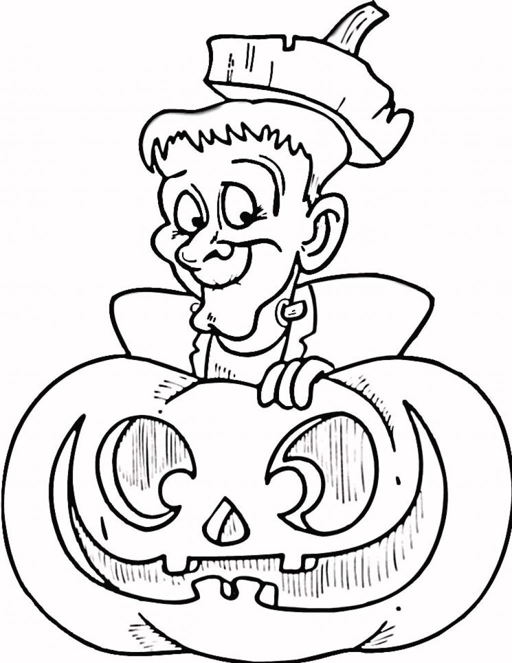 Halloween Coloring Pages Halloween