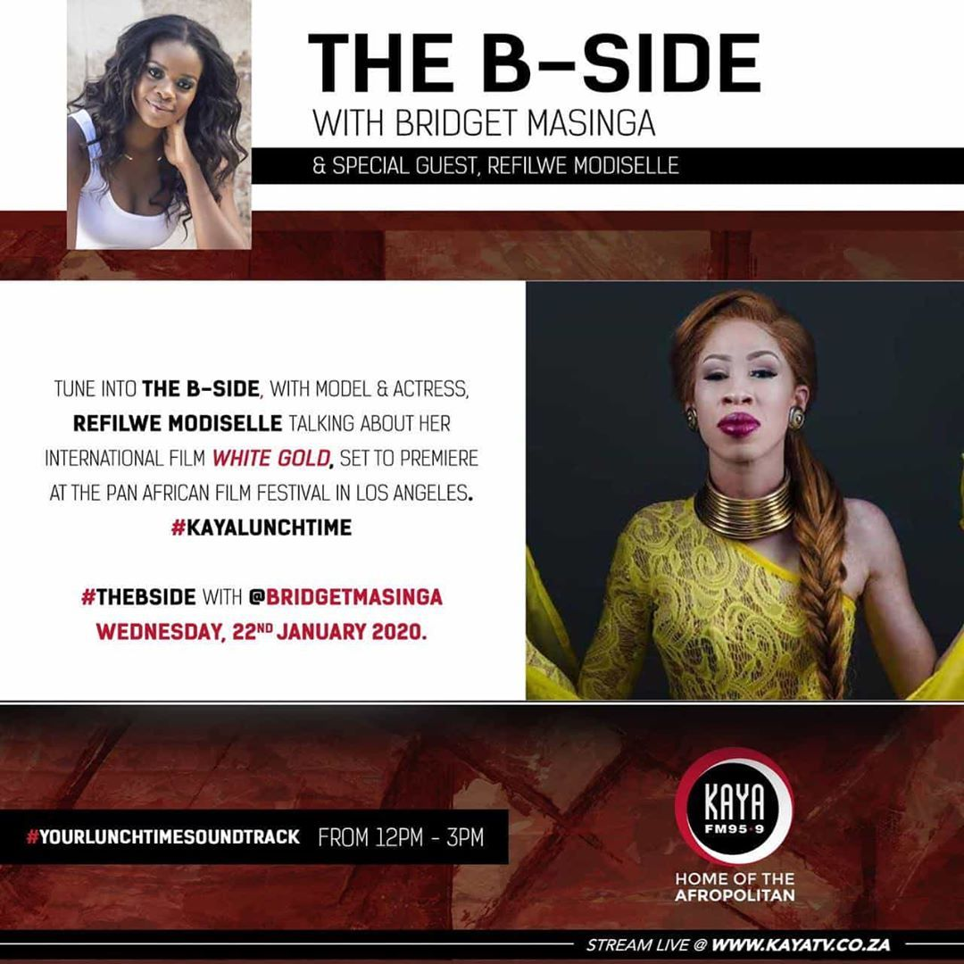 Totally going to have a blast with the radio hostess with the mostest bridgetmasinga  Make sure you tune in this afternoon at 13h00 Another thepitchwhitegold affair on th...