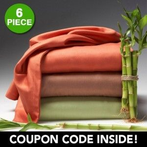 6 piece set hotel lexington 2200 series organic bamboo - Lexington ropa de cama ...