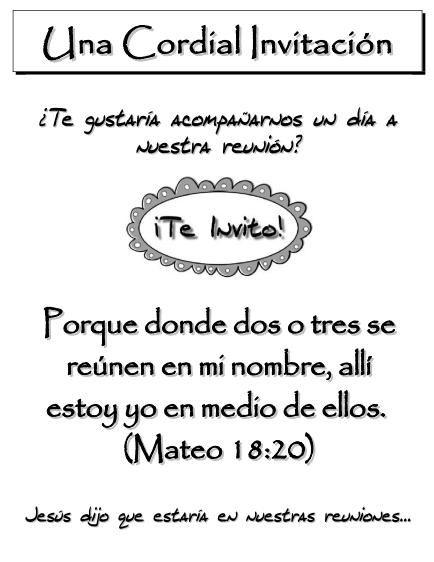 Tarjetas De Invitación Cristianas Para Jovenes Imagui