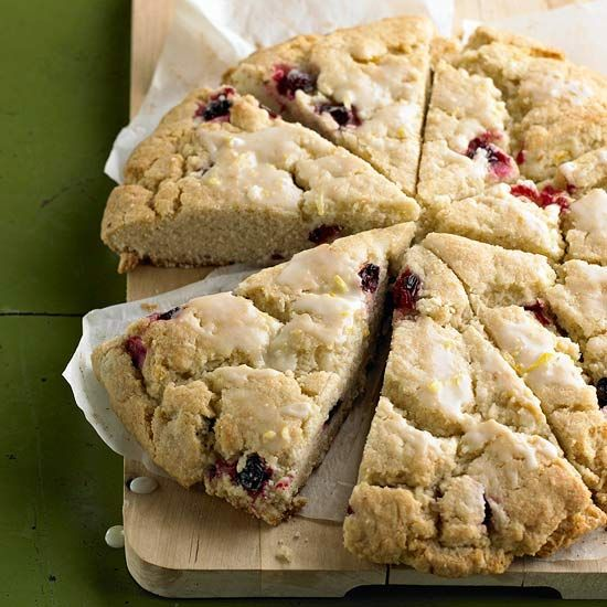 Pastry chef Alan Carter of Mission Beach Cafe in California shares his favorite seasonal scones, pies, cookies, and muffins.