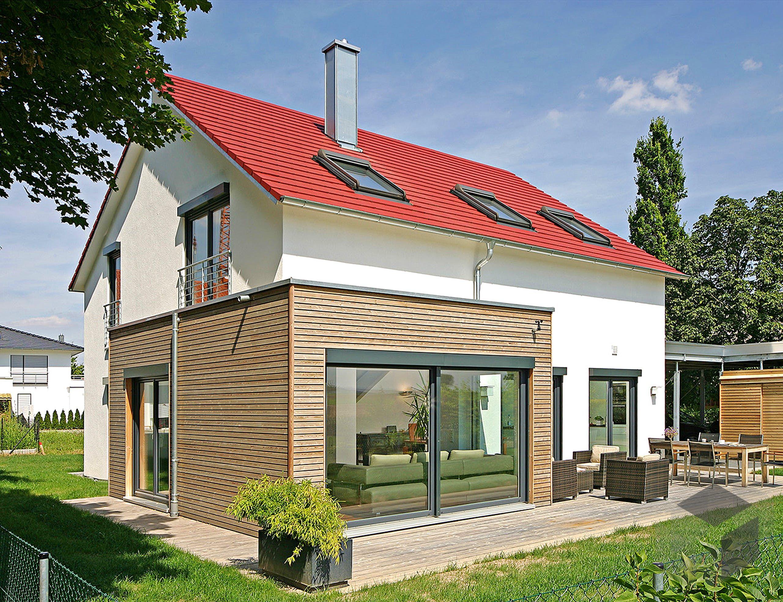 134 Modernes Haus Rotes Dach Concept M 159 Bien Zenker