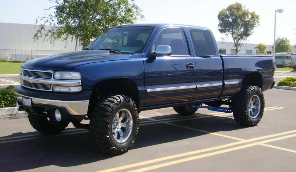 chevy z71 lifted 2002
