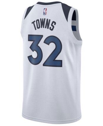 c50303c41de Nike Men's Karl-Anthony Towns Minnesota Timberwolves Association Swingman  Jersey - White XL