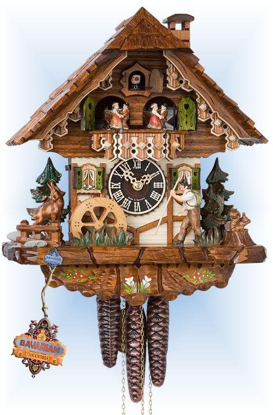 Happy Wanderer 12 Cuckoo Clock Cuckoo Clock Clock Happy Wanderers