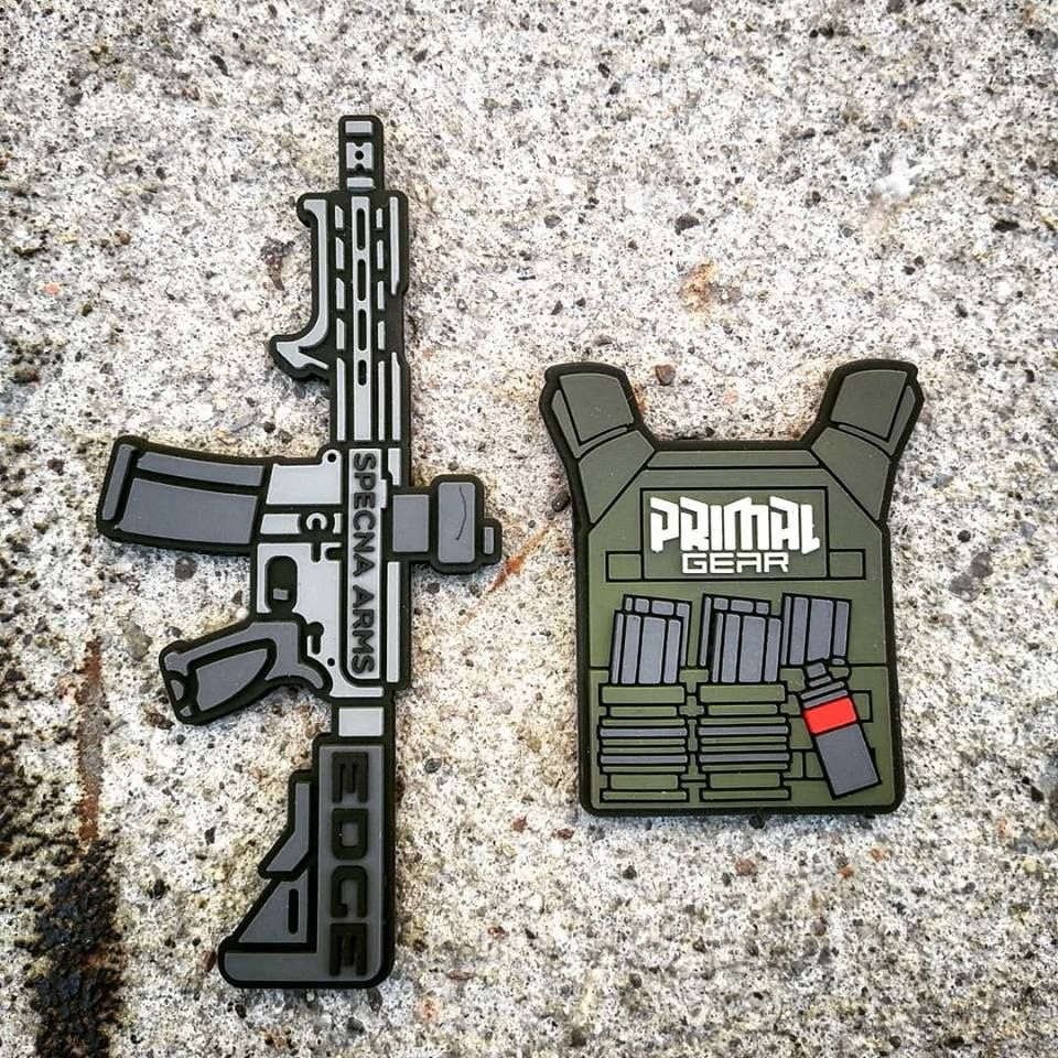 New Patches Of Specna Arms Edge Replica And Primal Gear Tactical