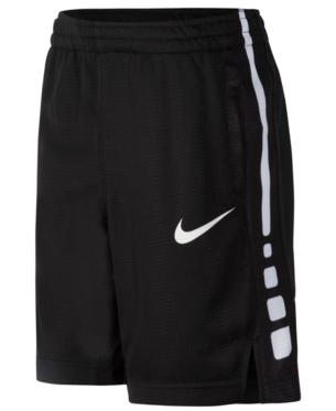Nike Toddler Boys Elite Stripe Shorts Black 2T   Products