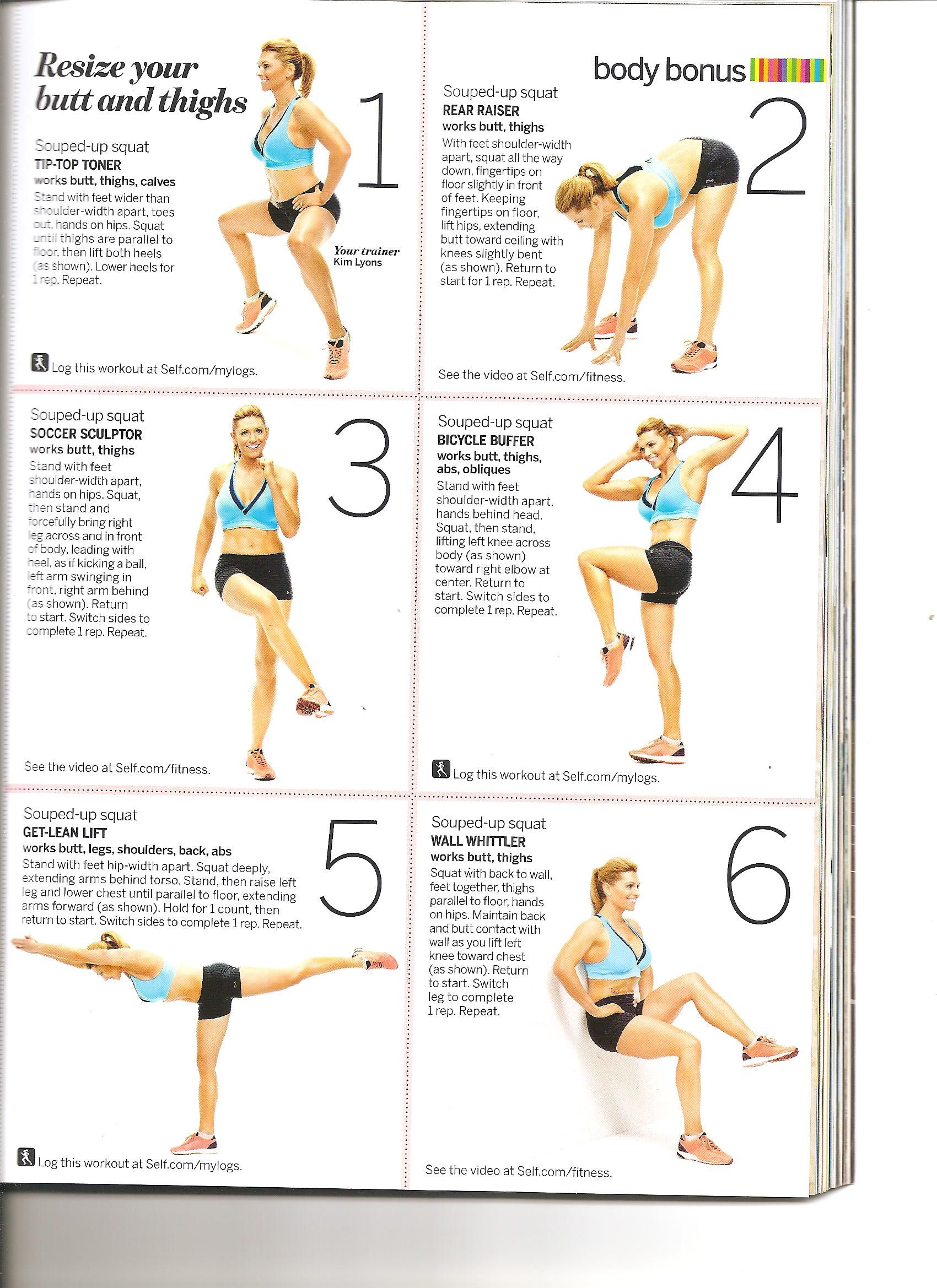 This Butt and Thighs workout left me shaking! i did a minute of each exercise