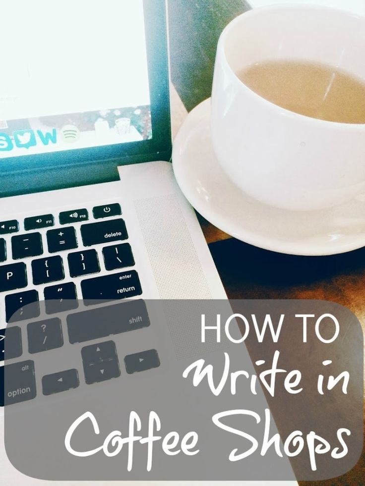 Blots & Plots:How to Write in Coffee Shops - Blots & Plots | #screenwriting