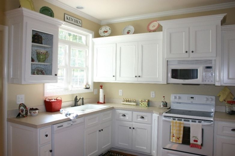 Best Color For Kitchen Cabinets With White Appliances Ideas Home