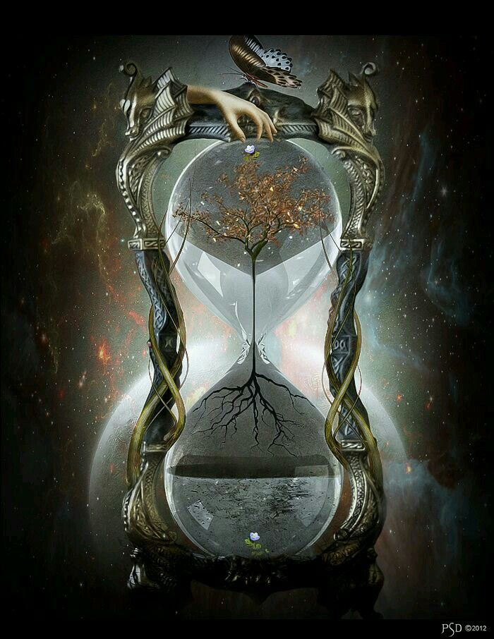 Rooted in time we all are