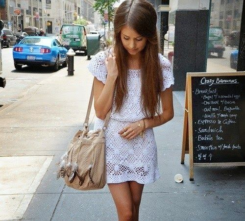 Crochet patterns: Crochet Beach Tunic or Casual Dress - Free Crochet Pattern and Tips